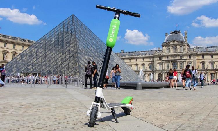 Parizs Elektromos Roller Resize