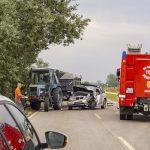 Halálos baleset az 54-es főúton a hétvégén (MTI fotó)
