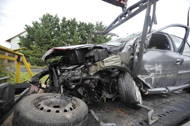 Meghalt egy autós a főváros XXIII. kerületében