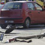 Közlekedési baleset a XIII. kerületben. A sofőr rosszul lett vezetés közben
