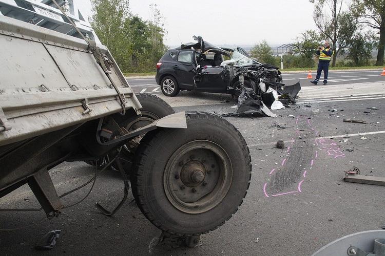 Mezőgazdasági vontatóval történt halálos baleset