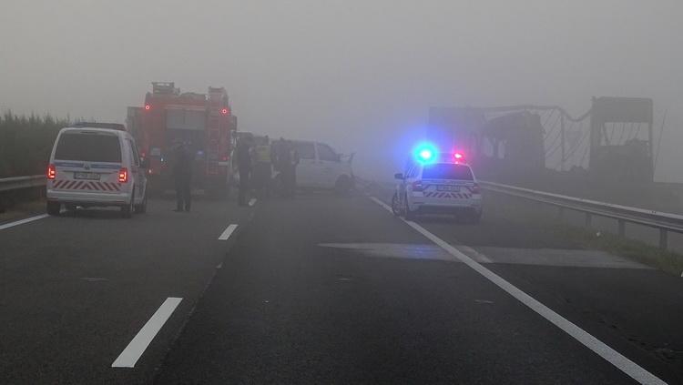 Halálos Baleset Történt Az M5 ös Autópályán