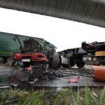 Halálos Kamionbaleset Az M0 áson Gyálnál