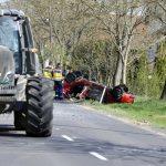 Autó és Traktor ütközött Egymásnak Galgagután, Egy Ember