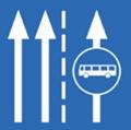 A motorosok használhatják a buszsávot