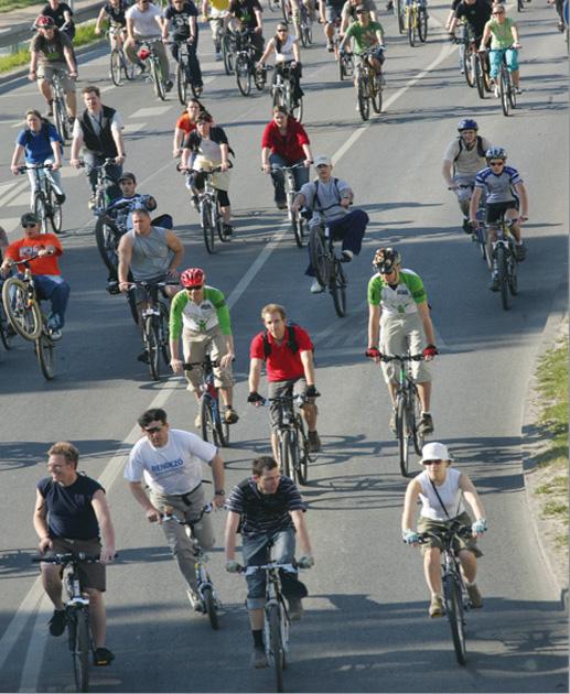 Egyre jelentősebb a kerékpáros közlekedés