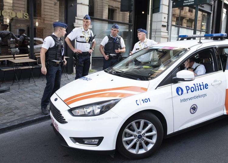 Belga rendőrök