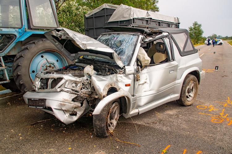 Halálos baleset az 54-es főúton Soltvadkert és Bócsa között