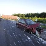 Kamion és Személygépkocsi ütközött Ócsánál