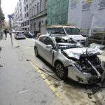 Teherautónak ütközött Egy Autó Budapesten