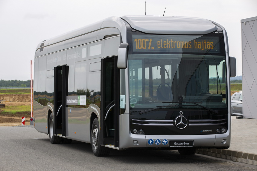 Elkezdődött A Zöld Busz Program