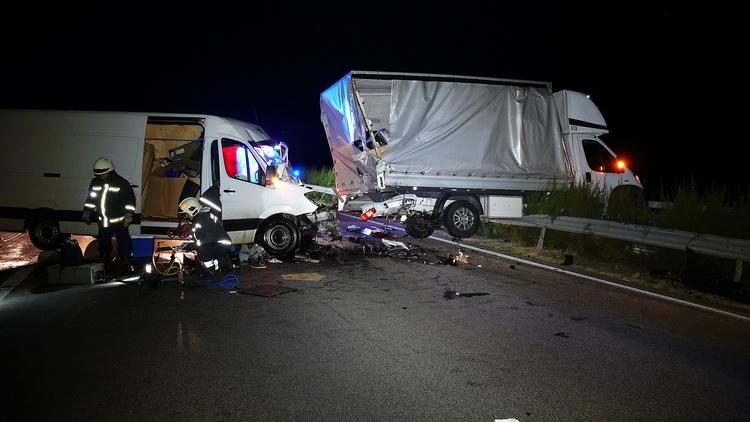 Baleset Az M5 ös Autópályán Petőfiszállás Térségében