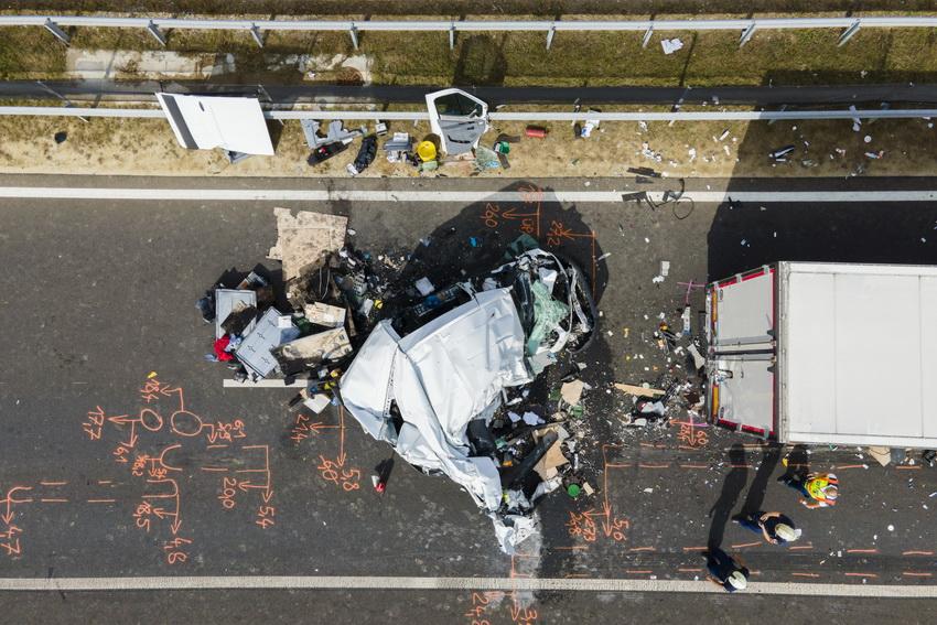 Kamionok ütköztek Az M70 Es Autópályán