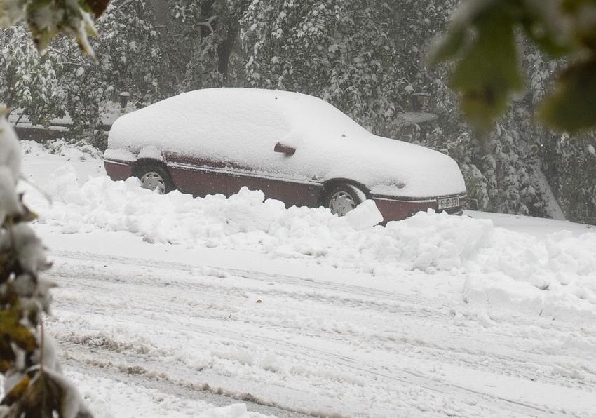 Kékestetőn Több Mint 10 Centiméteres A Hó