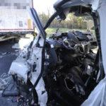 Teherautó Kamionnak ütközött Az M5 ös Autópályán Ócsán