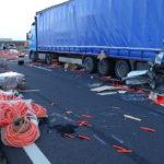 Kamion és Kisteherautó ütközött össze Csanádpalota Térsï