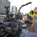 Kamion ütközött Budapesten Műszaki Mentés