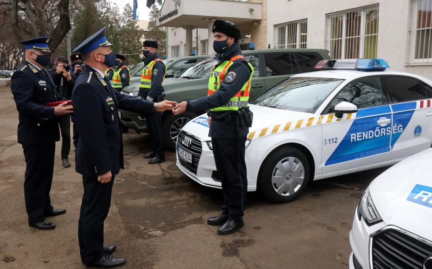 Új Szolgálati Gépjárműveket Kaptak A Hajdú Bihar Megyei Re