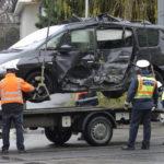 Villamossal ütközött Egy Autó Újbudán