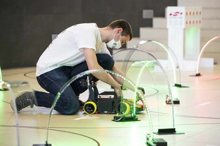 Robotautók Versenye Budapesten