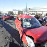 Négy Autó Karambolozott A Ferihegyi Repülőtérre Vezető út