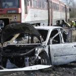 Vonattal ütközött Egy Személyautó Dabason