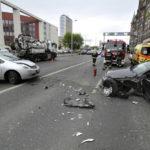 Két Autó Karambolozott Ferencvárosban