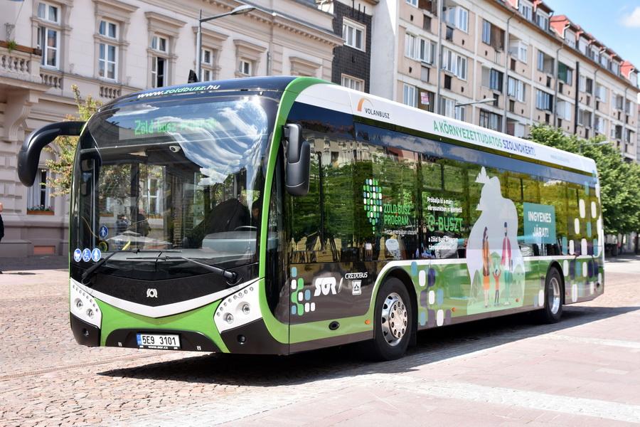 Szolnok Is Csatlakozott A Zöld Busz Demonstrációs Mintaprojek