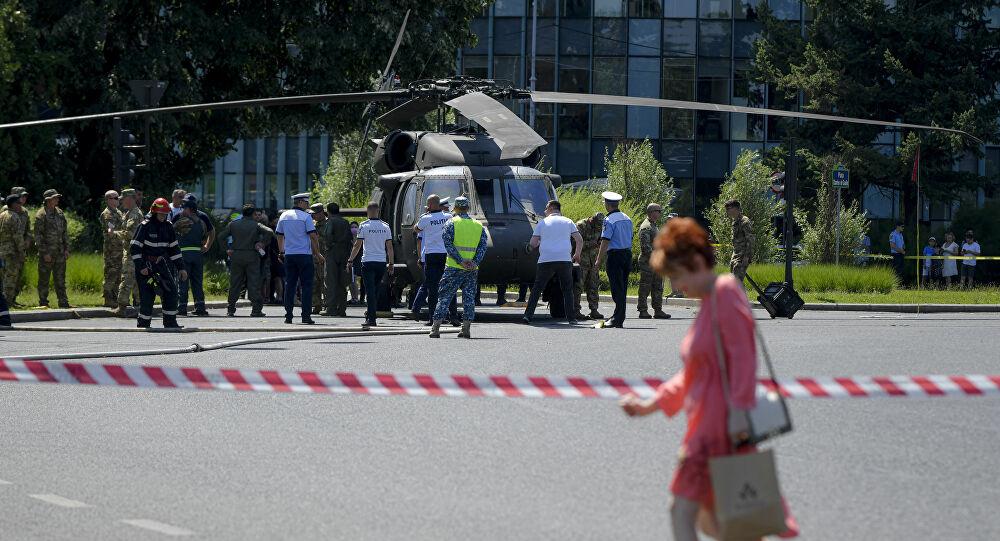 Helikopter Bukarest2