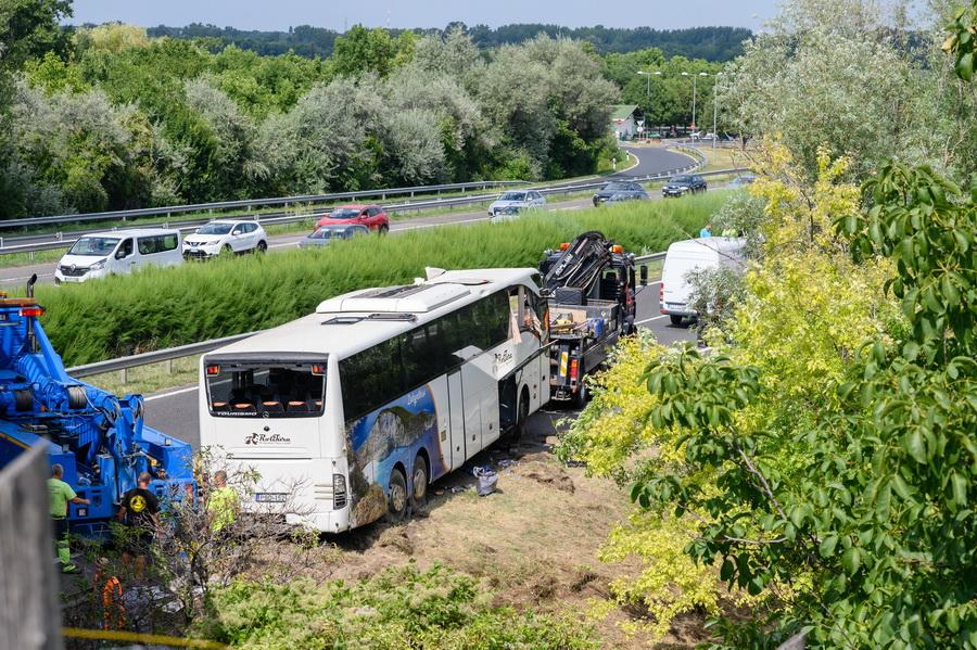 Buszbaleset Az M7 Esen Nyolcan Meghaltak, Nyolcan Sérültek M